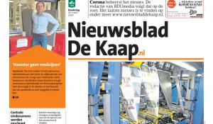 Nieuwsblad De Kaap introduceert een betaalmuur